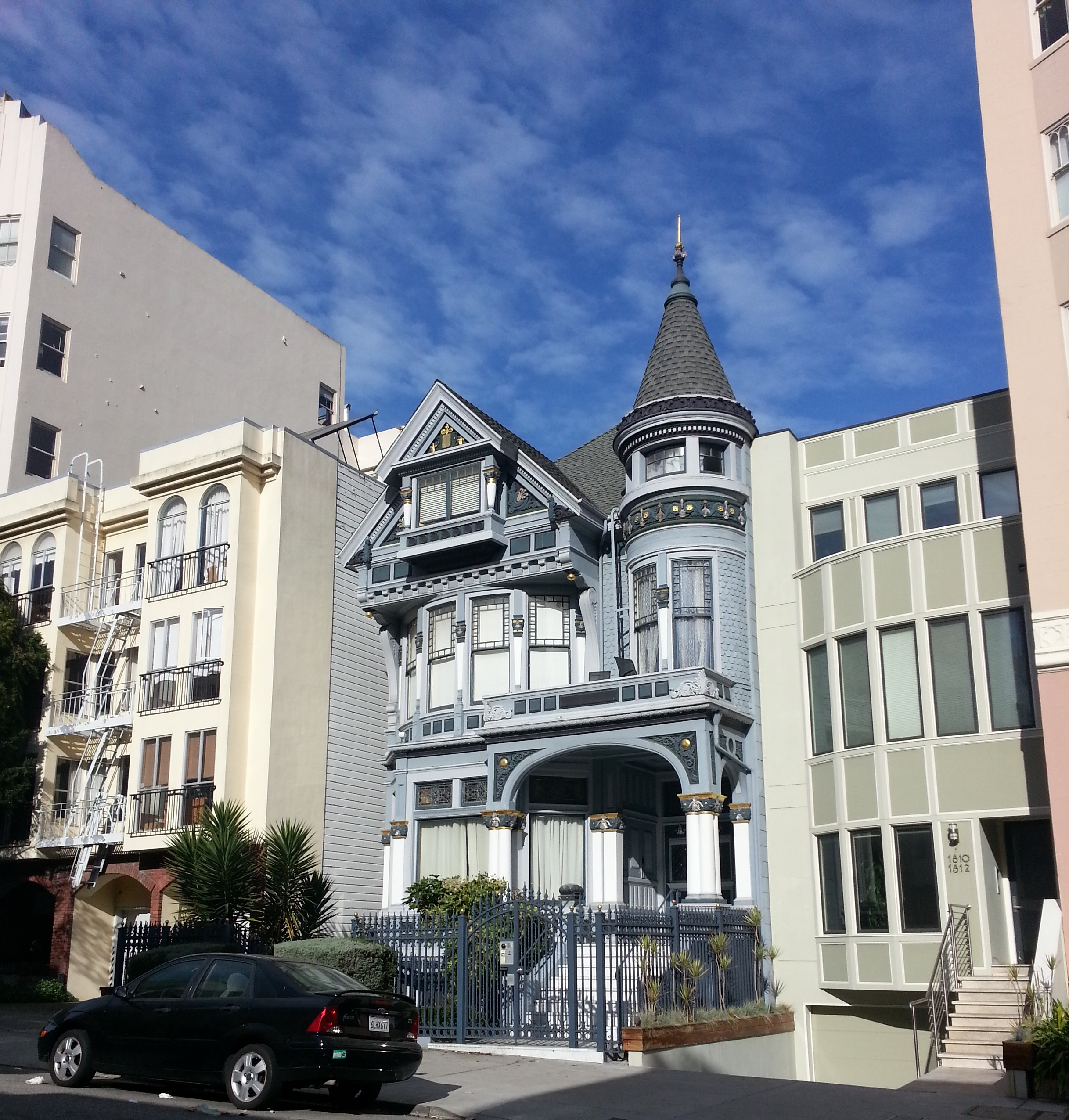 House Rentals San Francisco: A Glimpse Of San Francisco-a Victorian House In Pacific