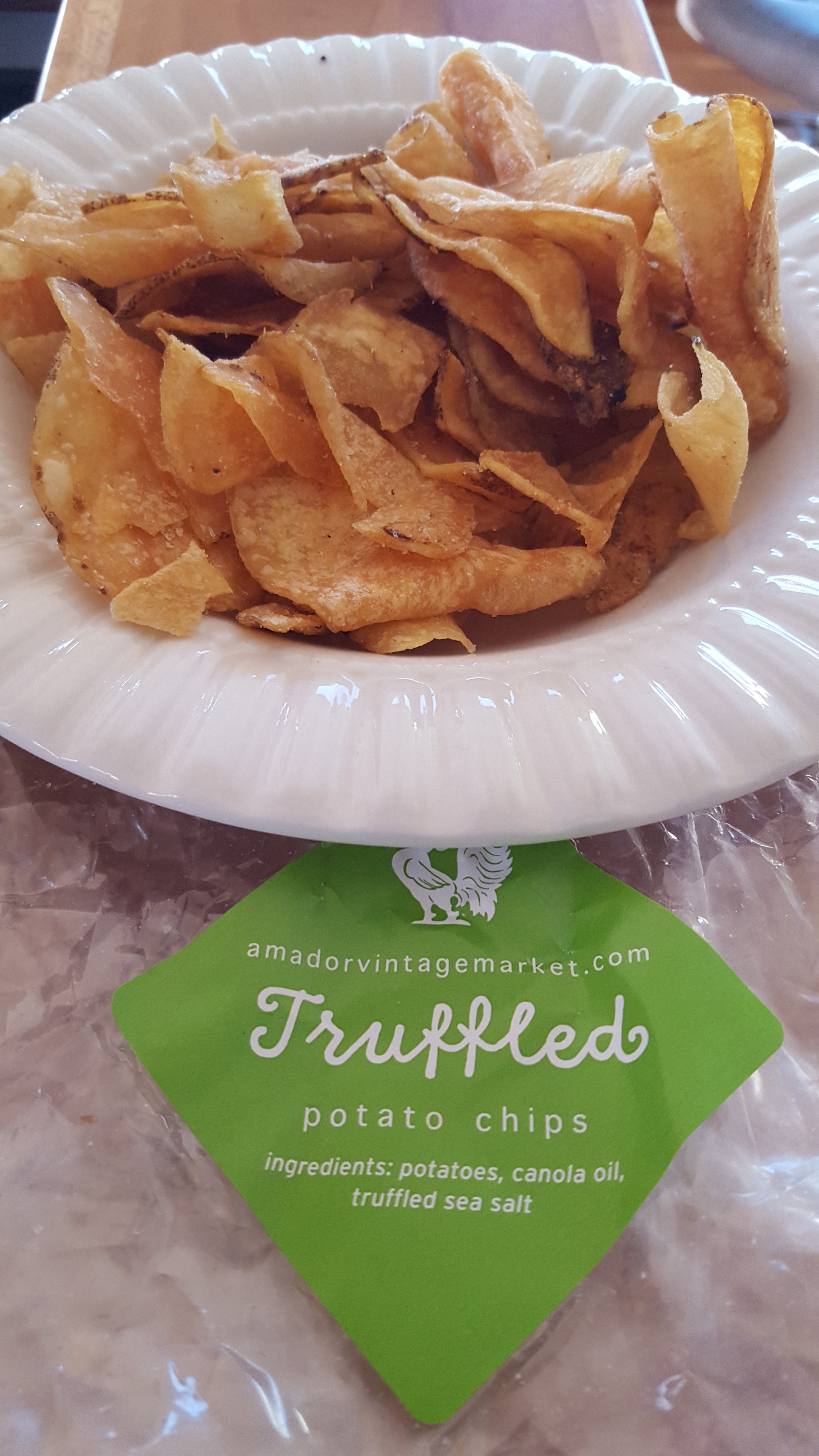 homemade potato chips, Amador Vintage Market