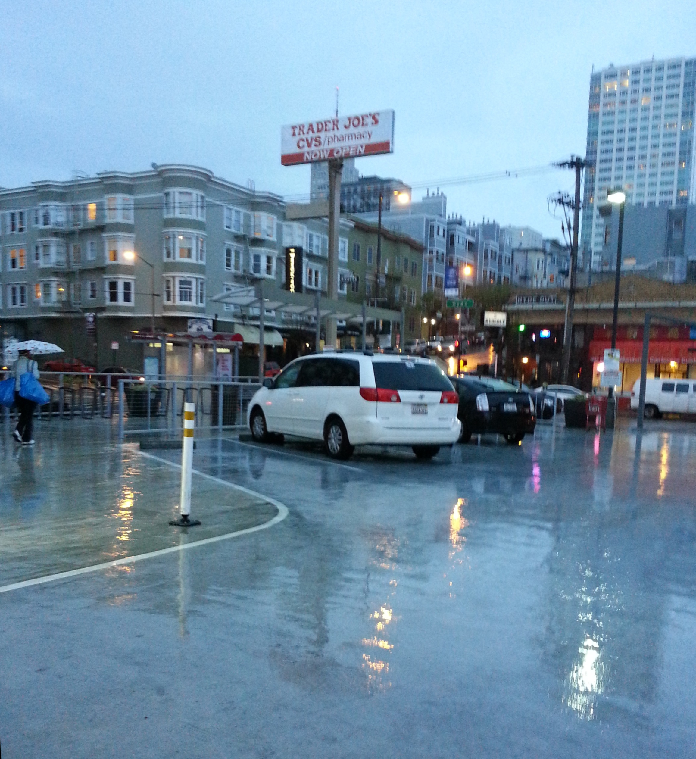 rain in San Francisco