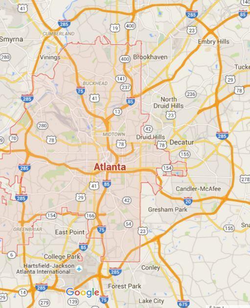 Atlanta Internet Buyer Orientation Atlanta Metro Area