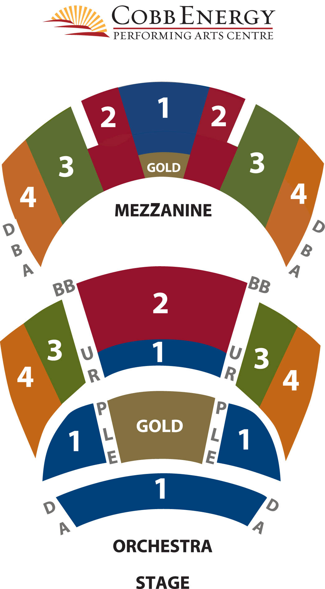 Cobb Energy Centre Seating Chart View