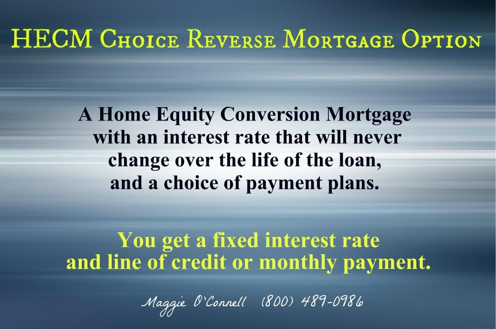New Reverse ... Reverse Mortgage Program