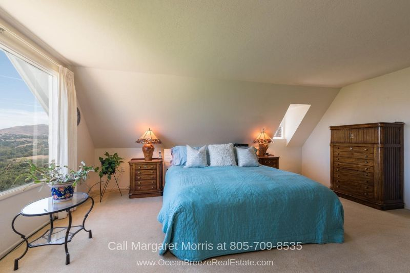 Arroyo Grande CA Homes for Sale - Enjoy the best of sleep in this master bedroom of this home for sale in Arroyo Grande CA.
