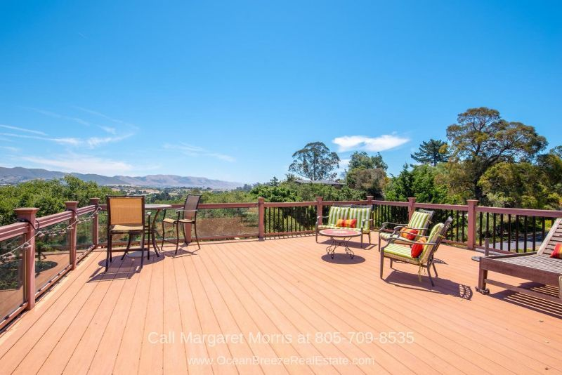 Real Estate Properties for Sale in Arroyo Grande CA - Enjoy amazing 270-degree panoramic views of the and vineyards in this home for sale in Arroyo Grande.