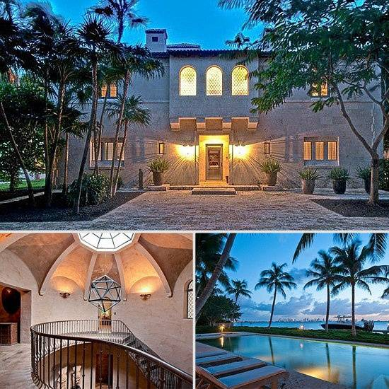 J Lo S Former Miami Beach Estate Sells To Phil Collins