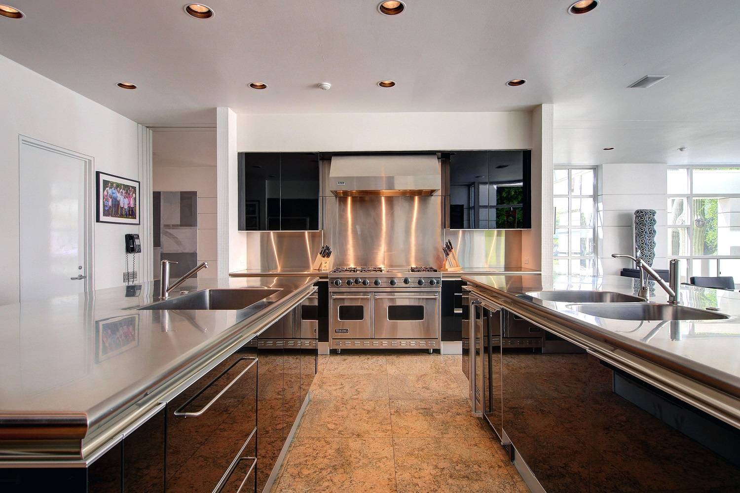 Rancho mirage ultra private estate modern architecture for High end kitchen stores