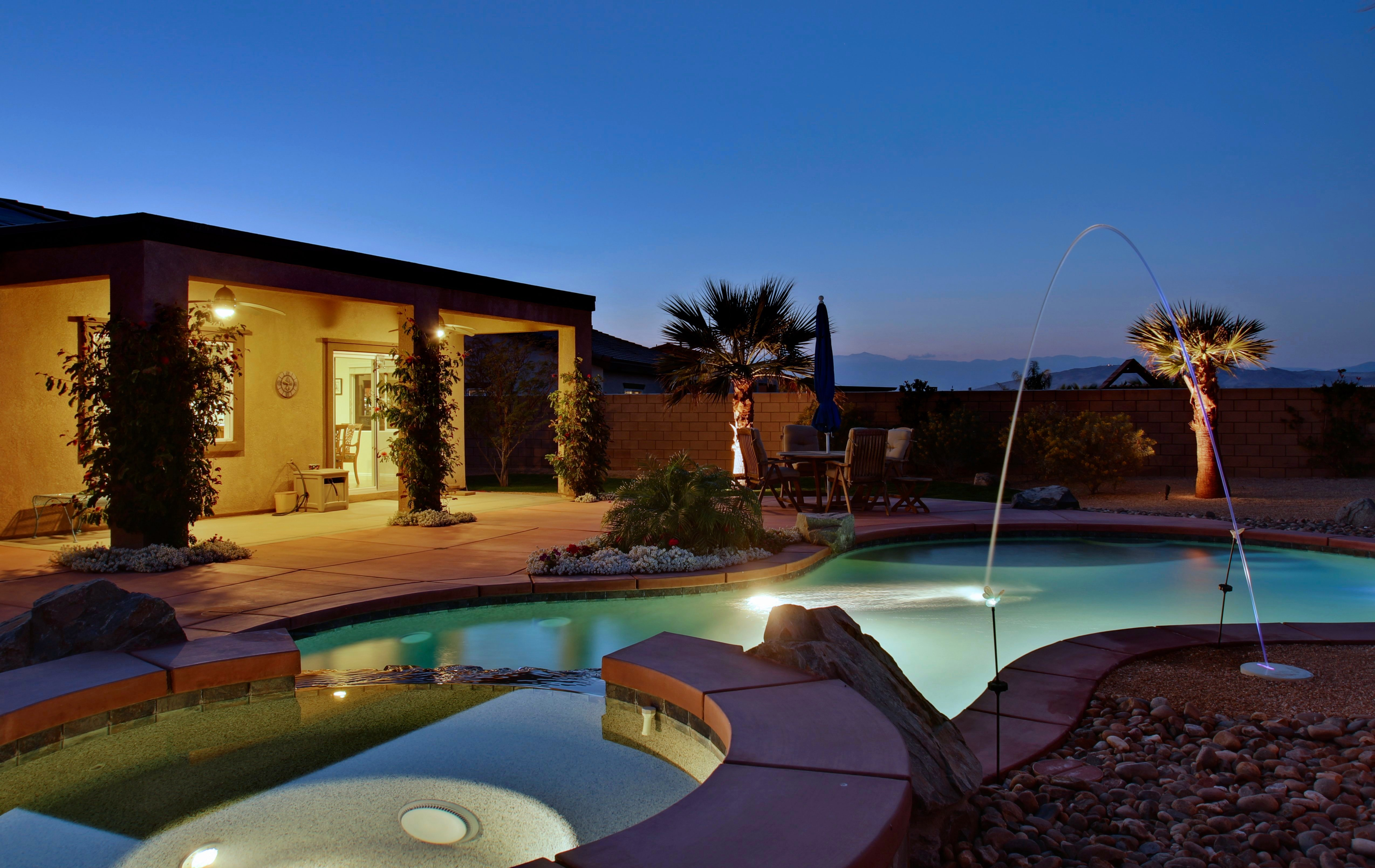 Fantastic Pool Home For Sale In Palm Desert Large Lot In