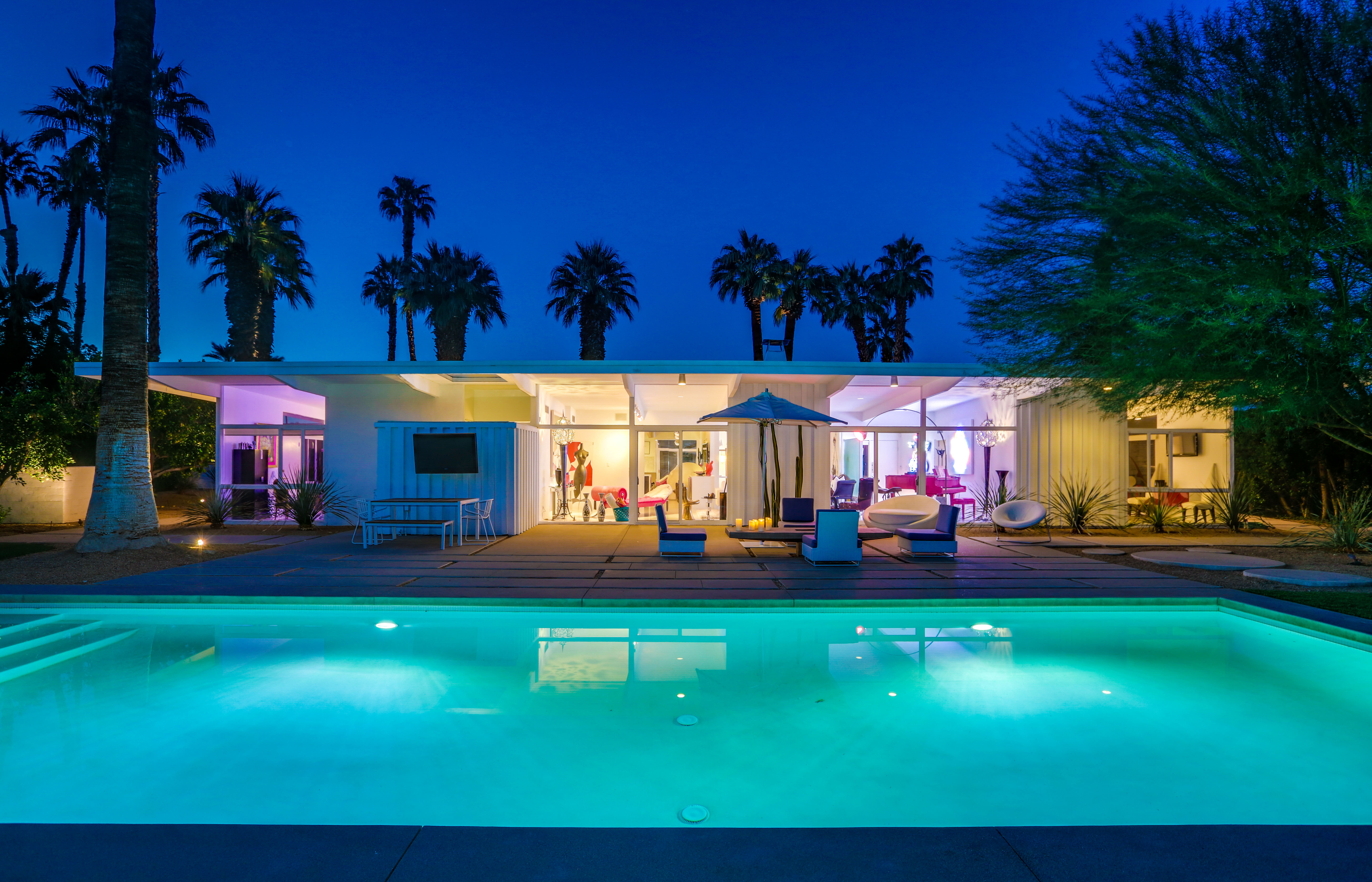 Historically Designated Wexler/Harrison Mid-Century Modern For Sale