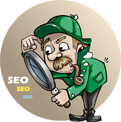 detective searching seo