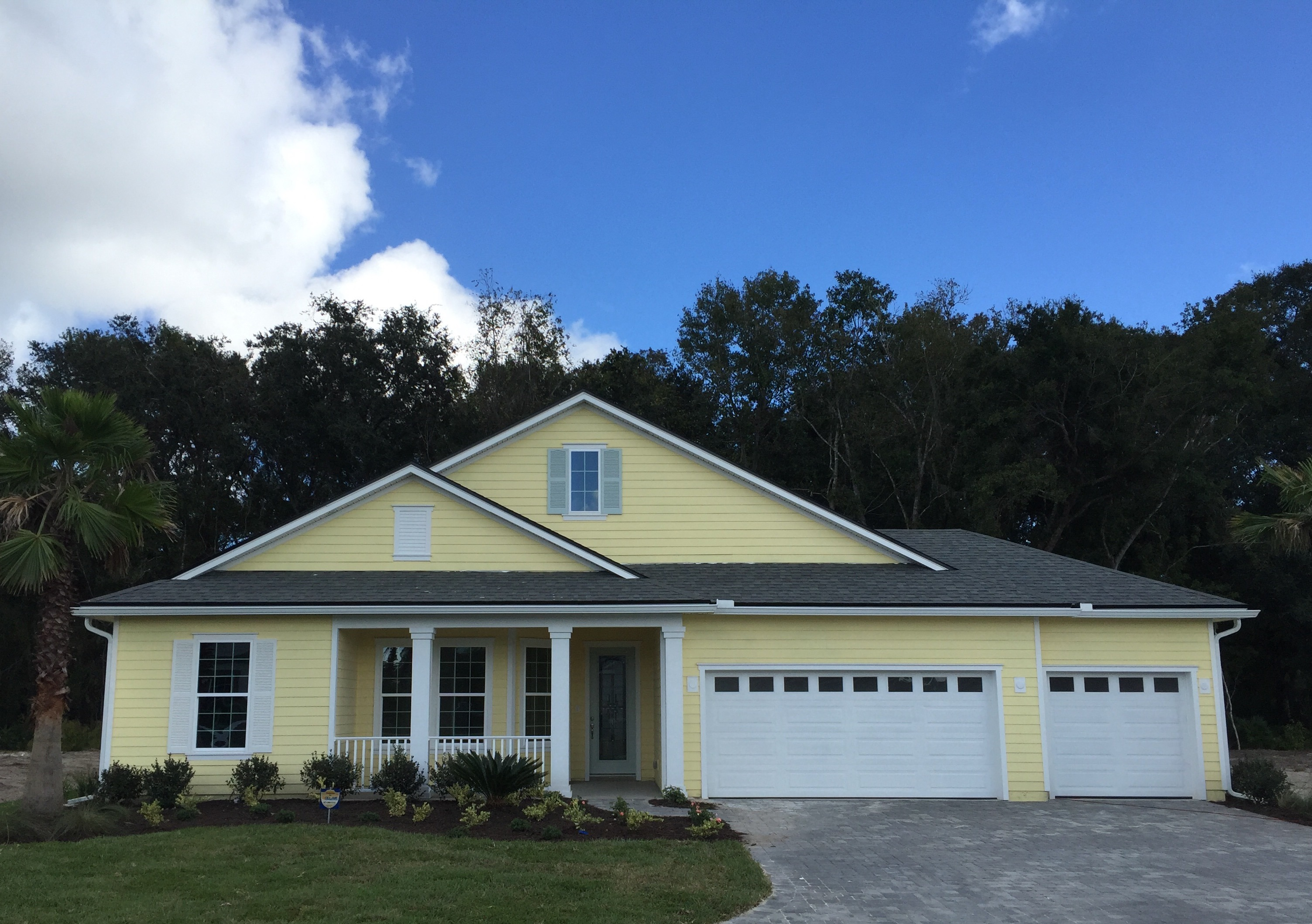 This Beautiful New Model Home By Landon Homes In Coquina Ridge