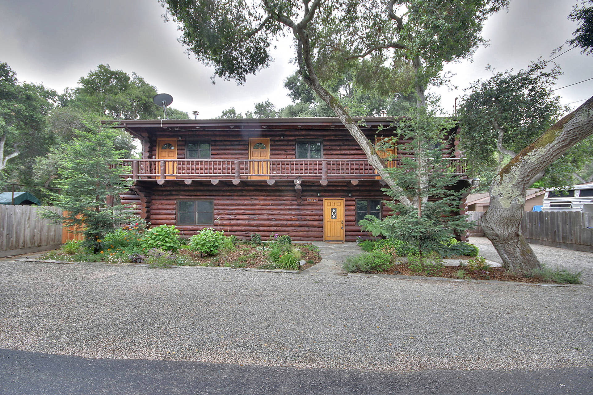 carmel valley village log cabin for sale