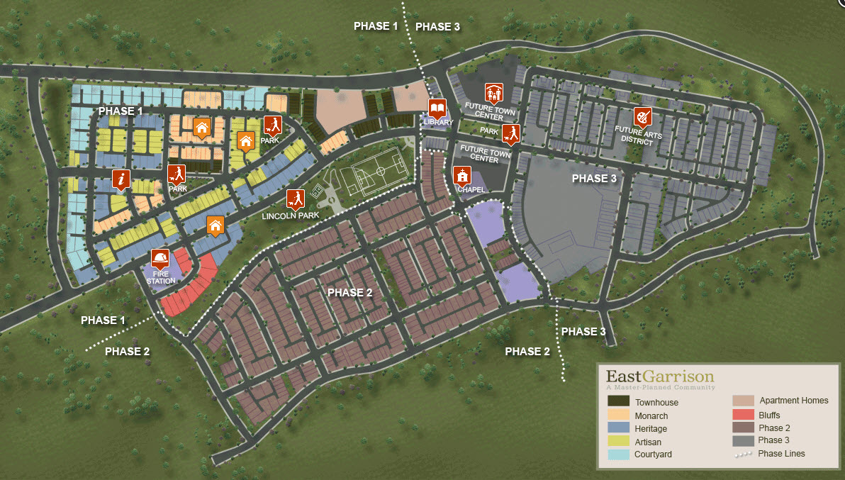 East Garrison Real Estate New Homes For Sale On The