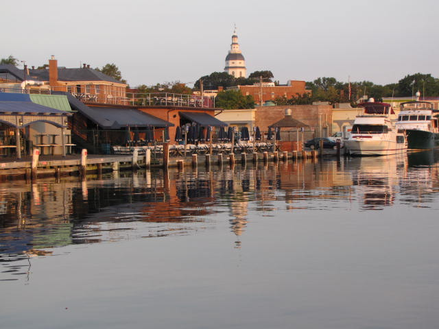 Annapolis in the early morning