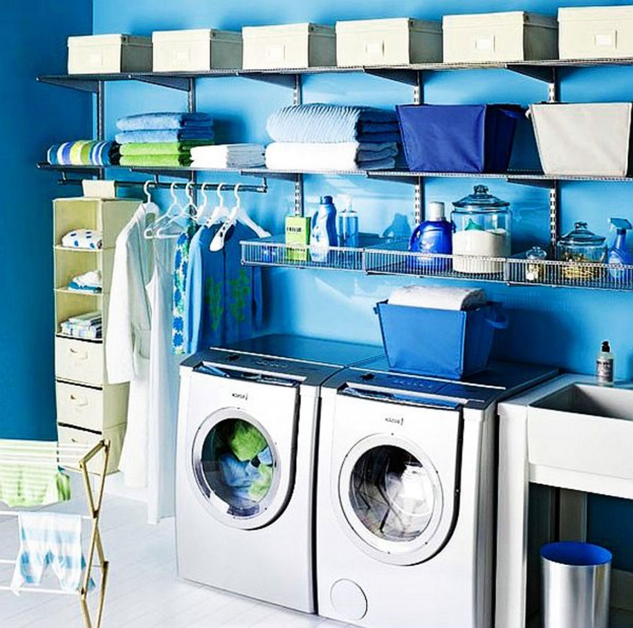 Decorating The Modern Day Laundry Room