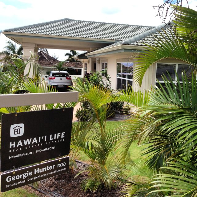 Two new listings over the weekend - pounding in the Hawaii Life signs