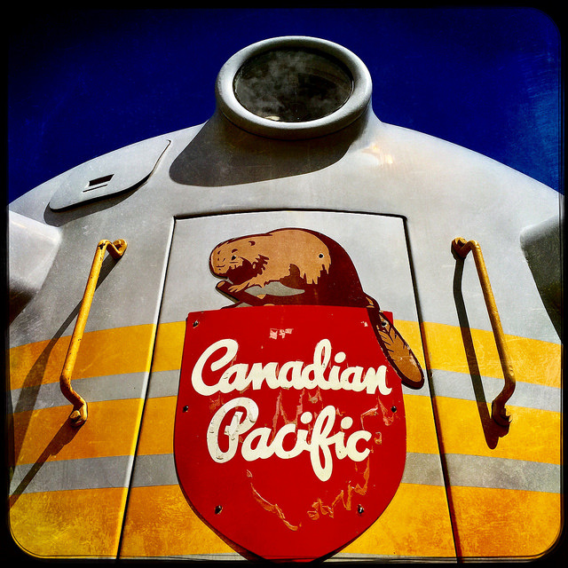 Happy Canada Day #Hipstamatic holiday pics - CP train beaver
