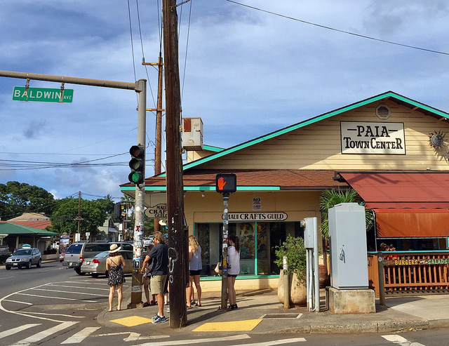 Downtown Paia Maui HI 96779