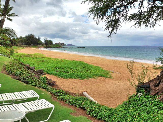 Summertime beachfront easy living in Kihei Maui HI
