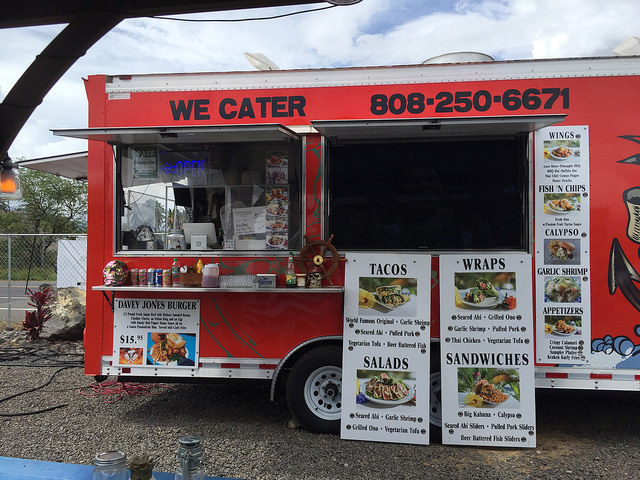 Da Nani Pirates food truck, Kihei Maui Hawaii