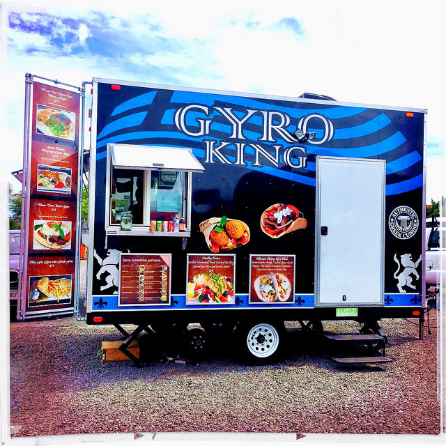 Gyro King food truck, Kihei Maui Hawaii