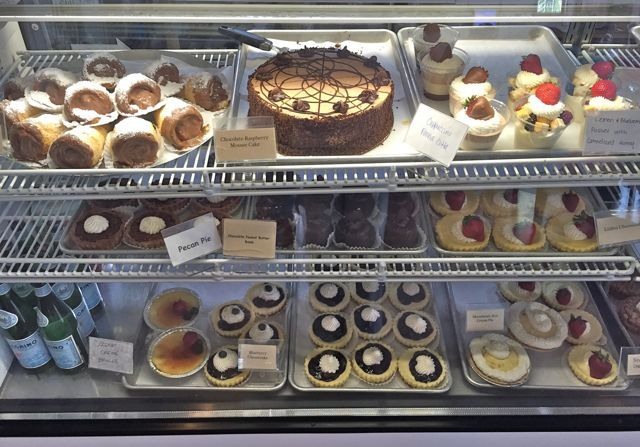 Kula Bistro pastries and desserts