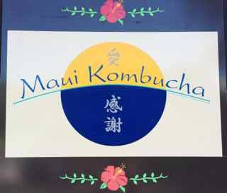 Maui Kombucha sign