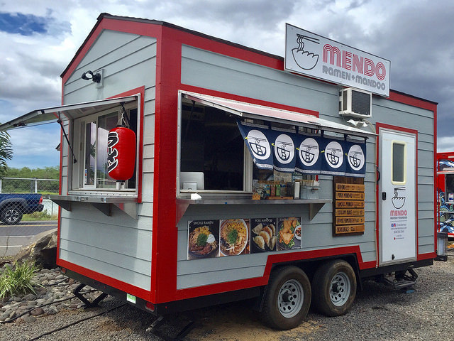Mendo food truck, Kihei Maui Hawaii