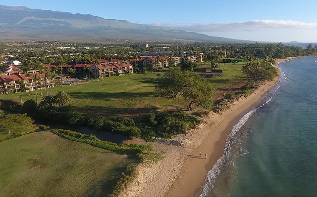 Condos, sandy beaches, and sunshine on Maui, the Valley Isle