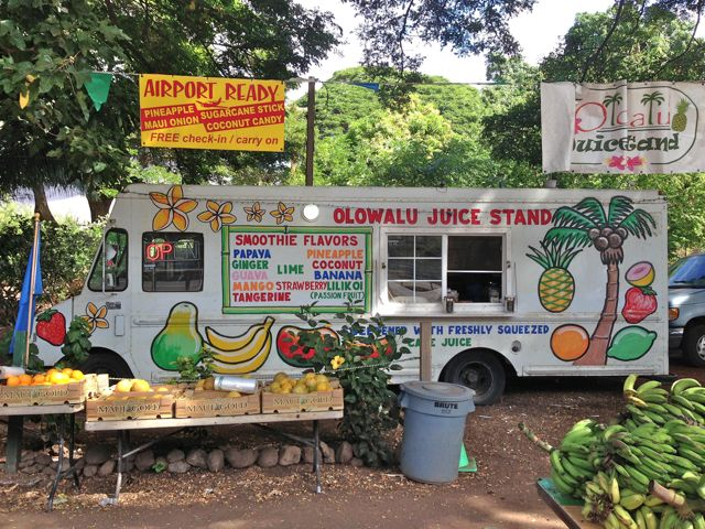 Aloha Friday from Olowalu Fruit and Juice Stand in Olowalu Maui