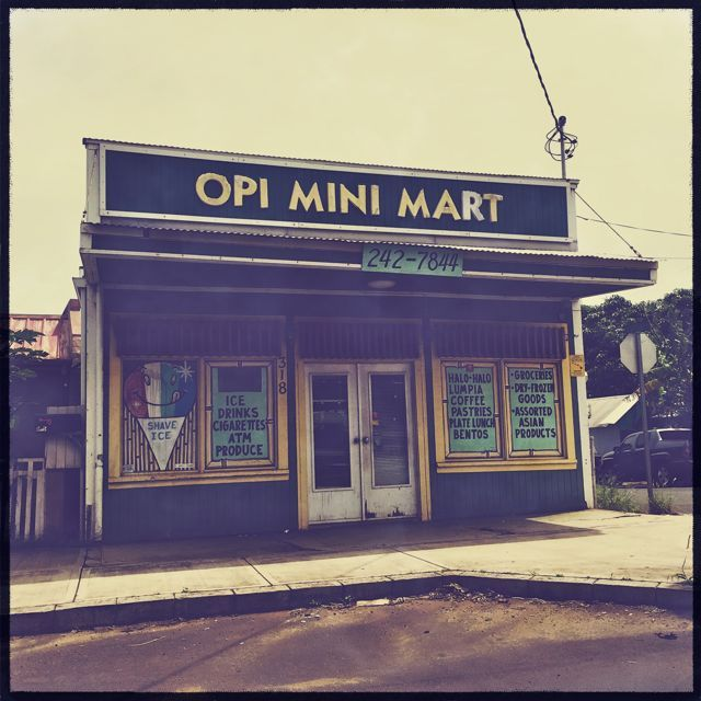 Opi Mini Mart, Wailuku Maui HI