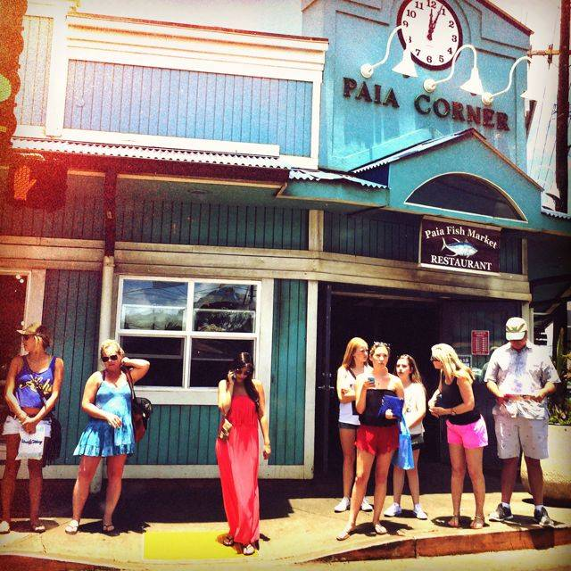 Paia fishmarket has consistently good food great fresh for Maui fishing store
