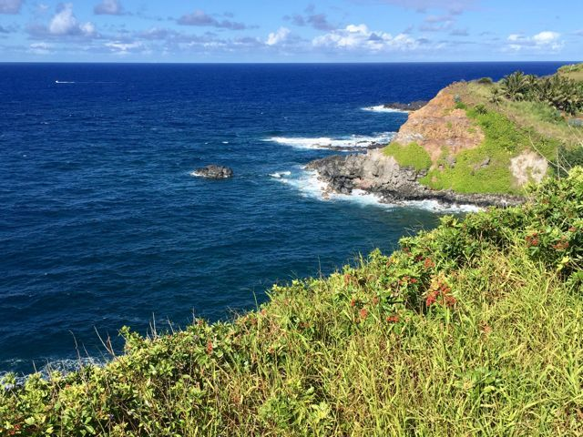 Oceanfront 2.3 acres for sale in Haiku Maui
