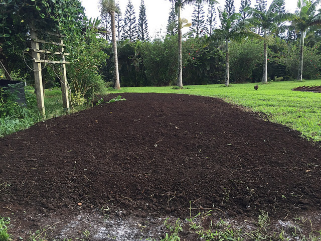 My Haiku Maui garden ready for planting!