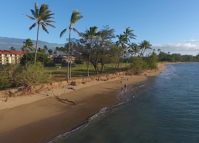 Kihei Maui Hawaii - oceanfront condos for sale