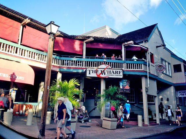 Front Street, Lahaina - before the Halloween event