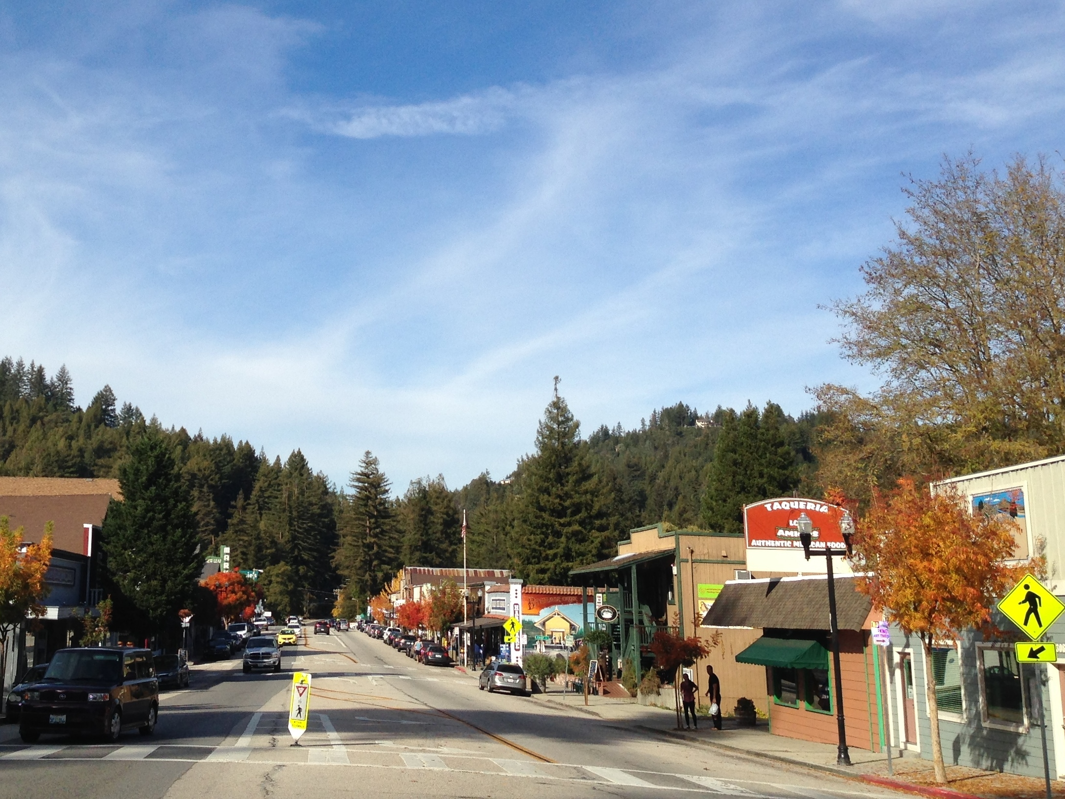 Downtown Boulder Creek