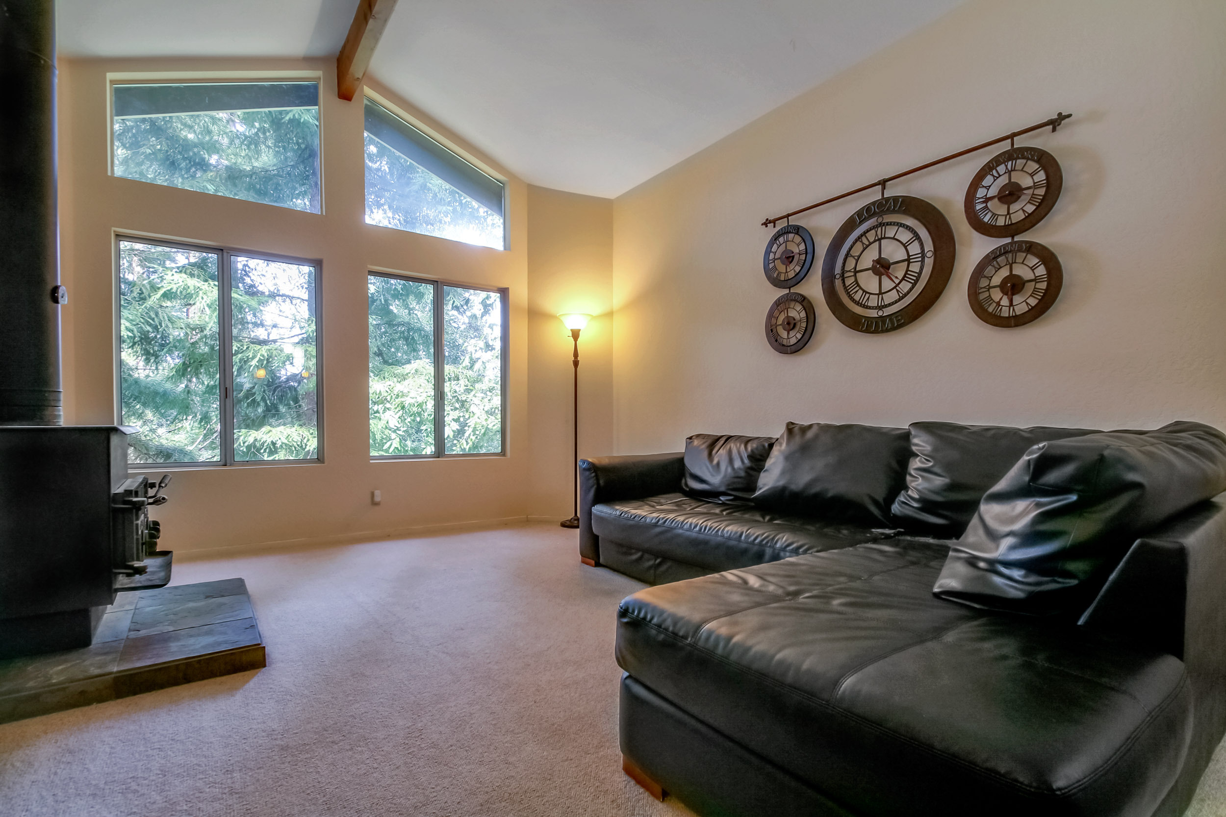 Living Room 422 High Street, Brookdale CA Listed by MC Dwyer