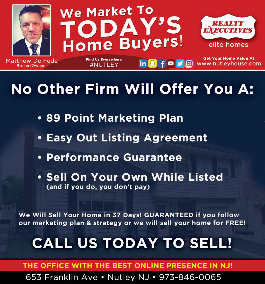 Selling your home in NJ
