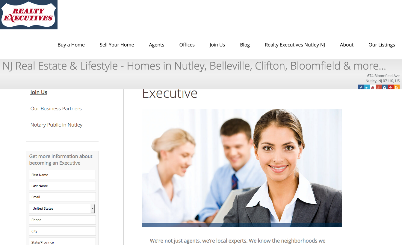 Realty Executives Elite Homes Digital Marketing