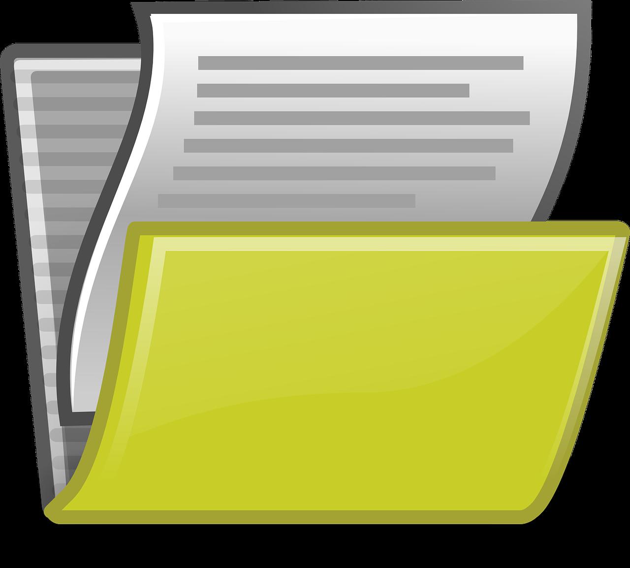 file folder documents