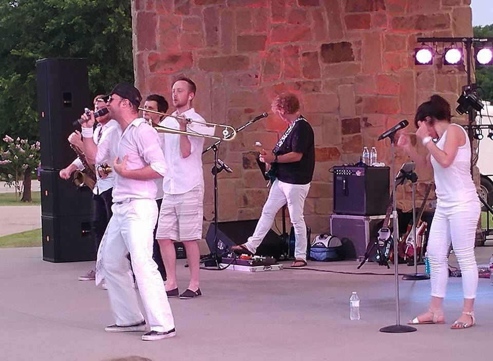 Music in the Park Azle June Band