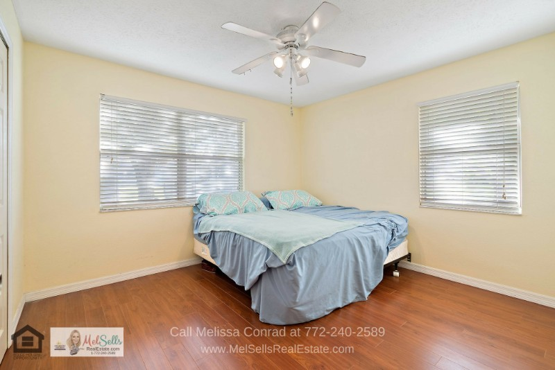 Port St. Lucie FL Real Estate Properties for Sale - Enjoy the best rest and privacy in the bright and airy master bedroom of this Port St. Lucie home for sale.