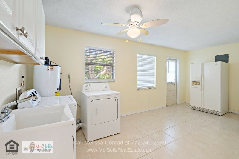 Port St. Lucie FL Homes for Sale - Get a dedicated space for your laundry in this move-in ready home for sale in Port St. Lucie.
