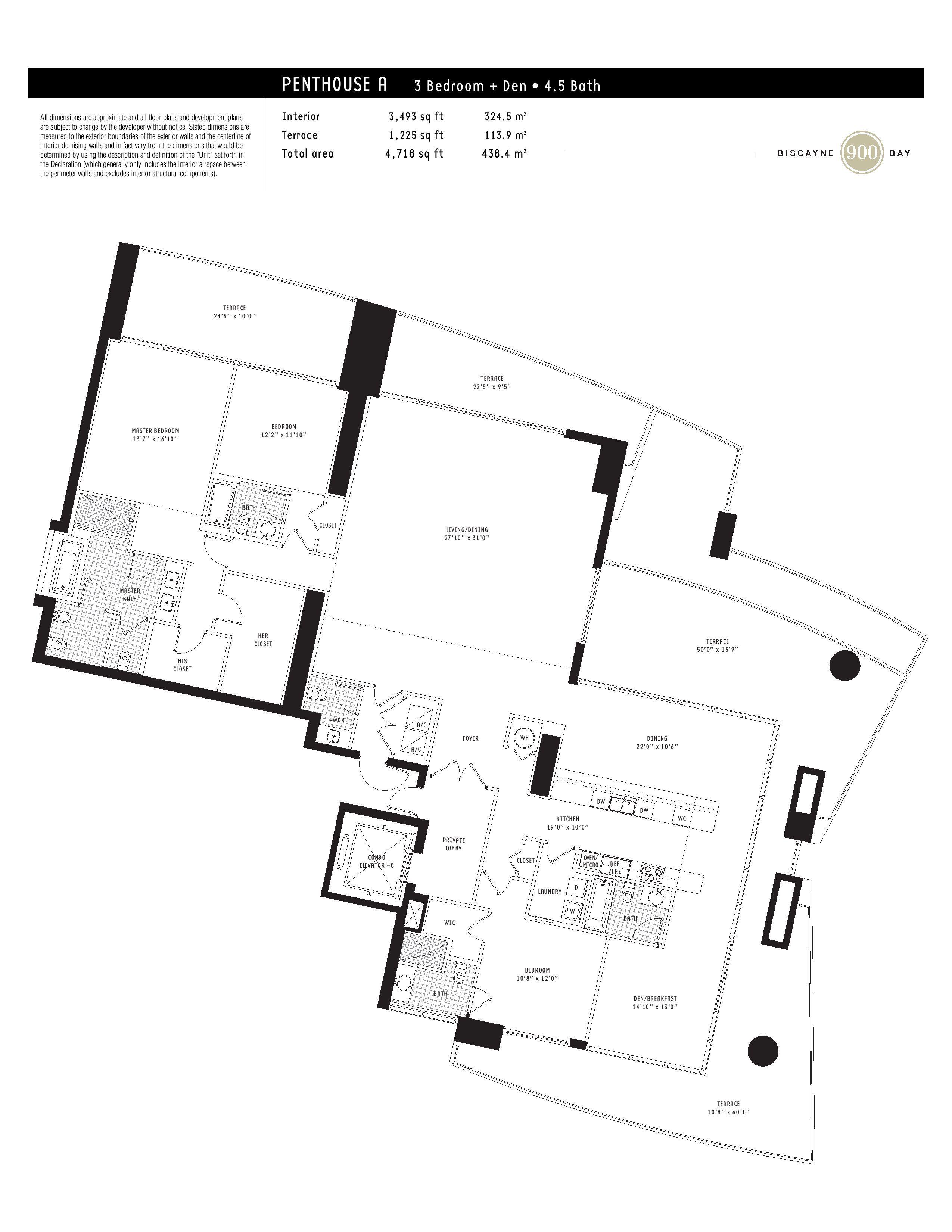 900 biscayne floor plans