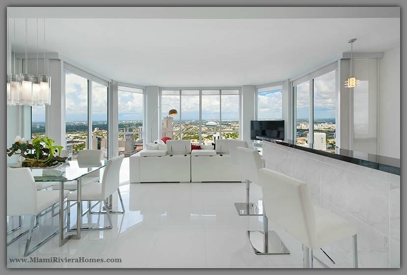 Vizcayne Miami Fl Corner Unit Condo For Sale