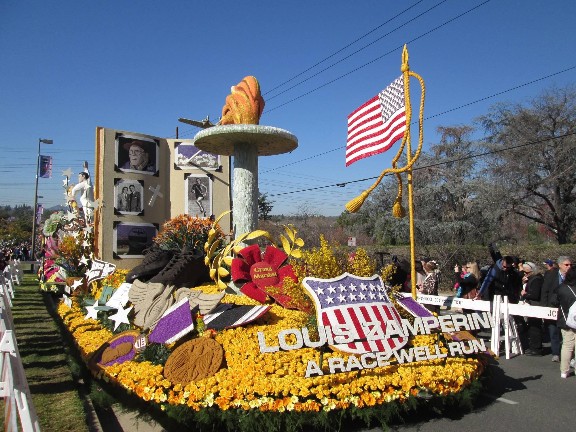 Pasadena CA Tournament of Roses Parade Float Showcase