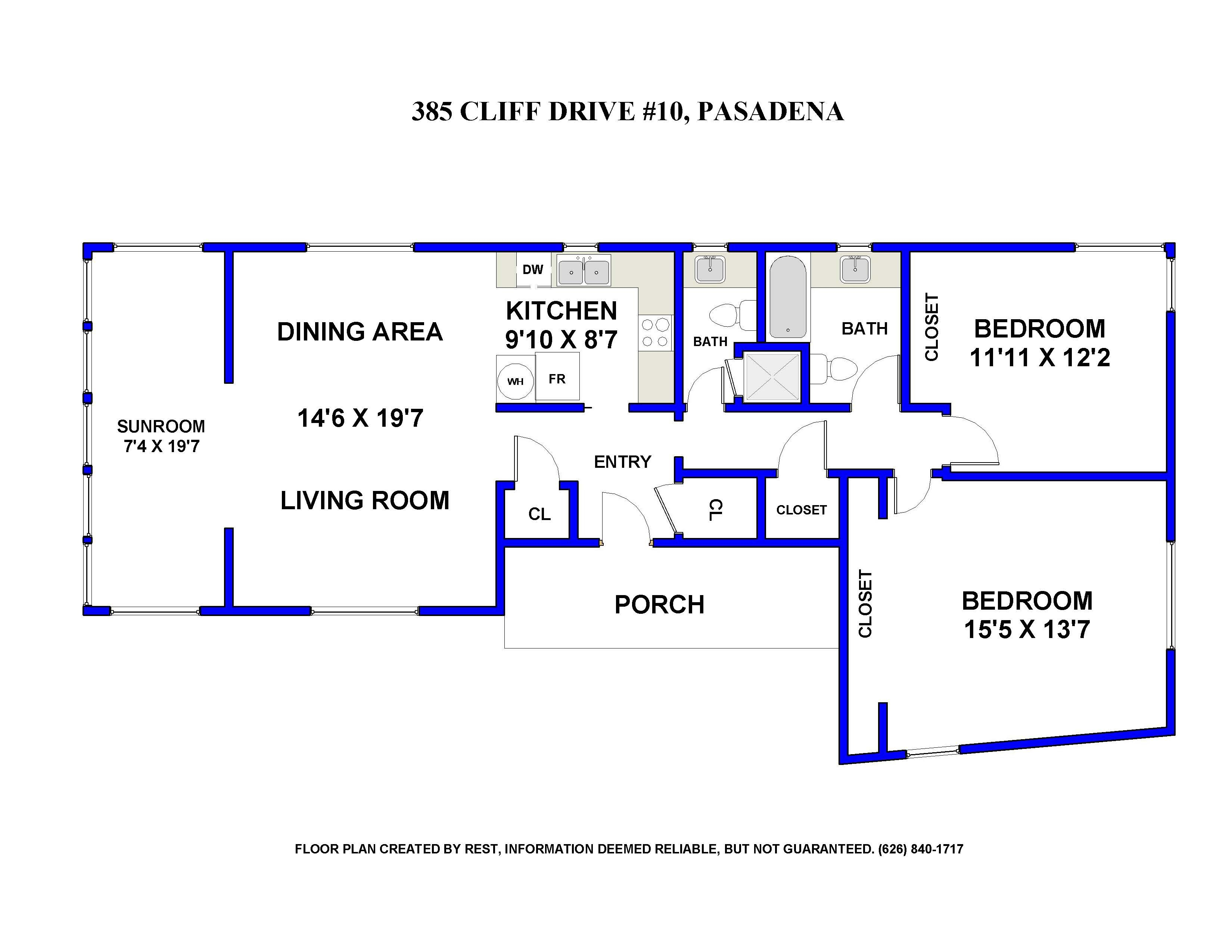 385 Cliff Drive Pasadena Hastings Ranch Condo For Lease