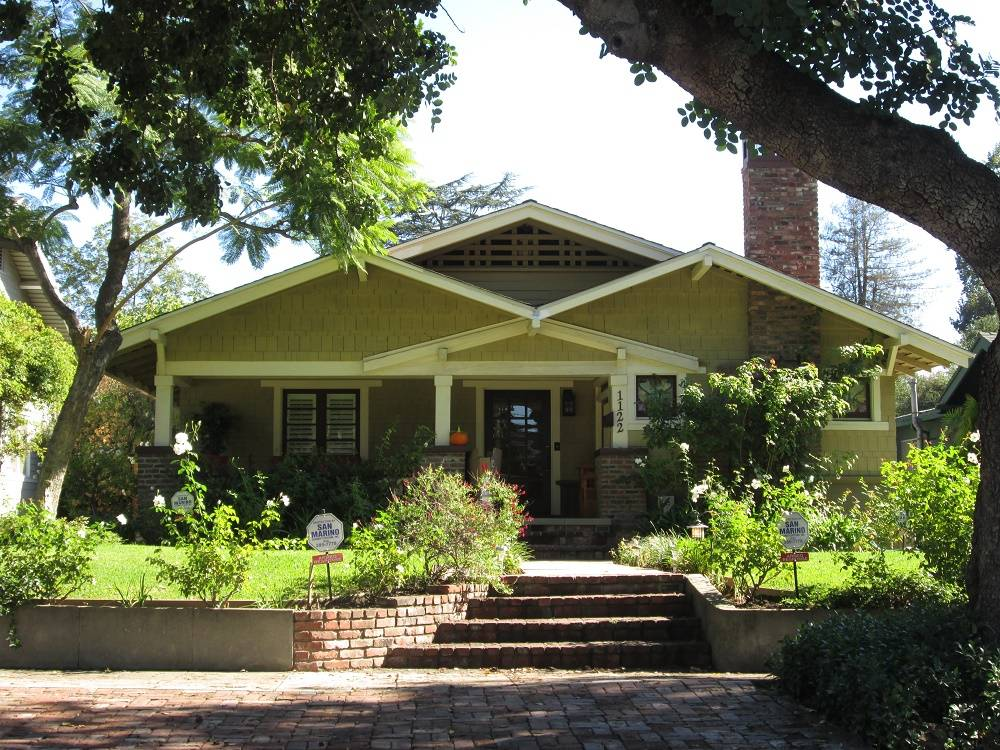 South pasadena ca homes for sale and market update 2014 for Craftsman style homes for sale in california
