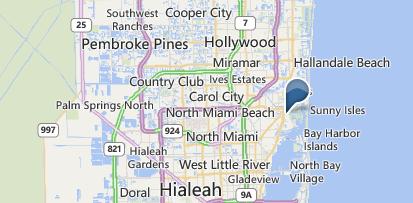 Aventura Florida Map.Aventura Florida Real Estate For Sale