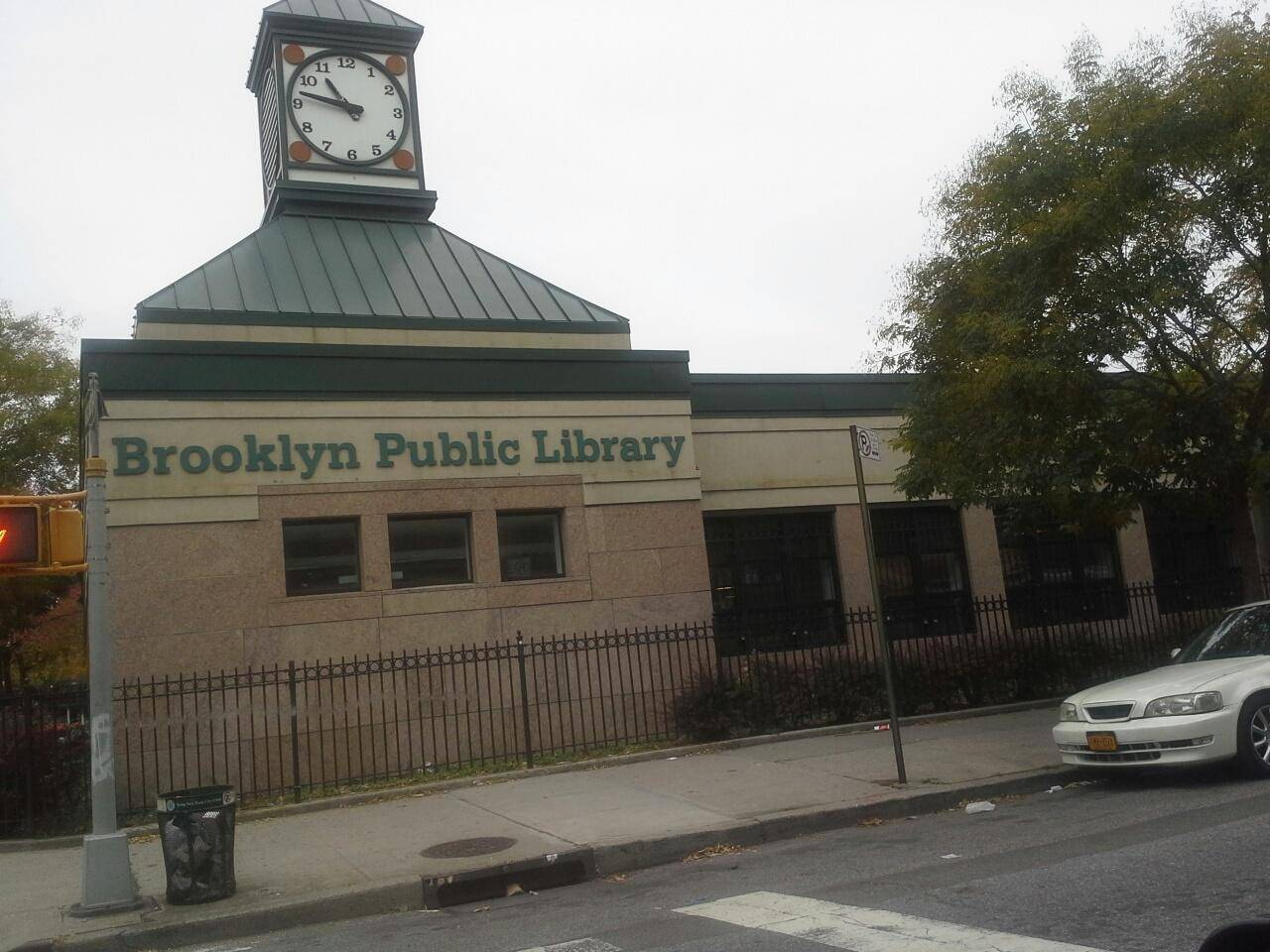 library in flatbush brooklyn,